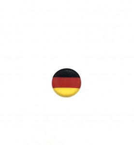 """Schoko-Aufleger """"Deutschland"""", weiße Schokolade, 30mm, 595 Stück"""