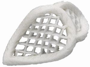 Filigran, Tragantzucker, klein, weiß, 60 Stück