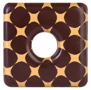 Schoko-Quadrat, 29mm, 96 Stück