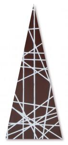 Schoko-Dreieck, 62x33mm, 120 Stück