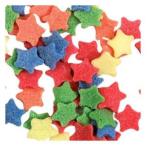 Zucker-Sterne, Streudekor, sortiert