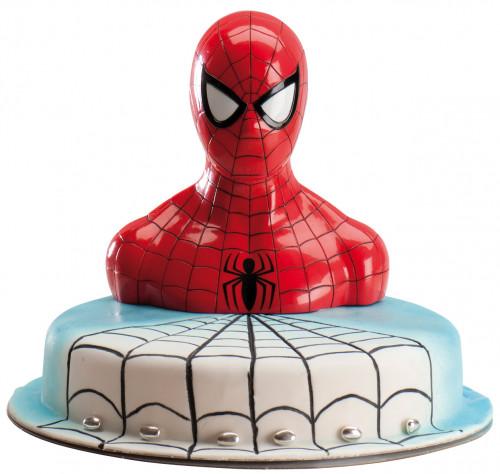 Spiderman Spardose mit Drehverschluss, Kunststoff, im Display