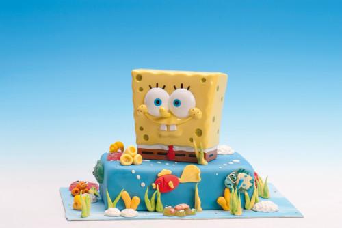 Sponge Bob Spardose mit Drehverschluss, Kunststoff, im Display