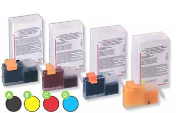 Kartusche rot für Canon-Drucker