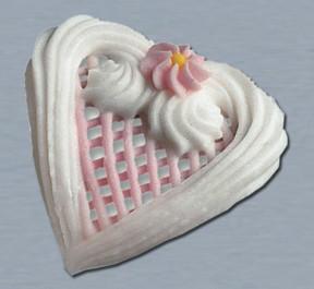 Filigran-Herzen rosa