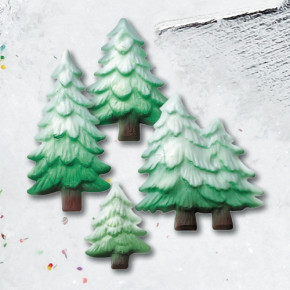 Tragant-Tannenbäume,  4-fach sortiert