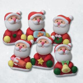 Geleé/Zucker-Weihnachtsmänner, 6-fach sortiert