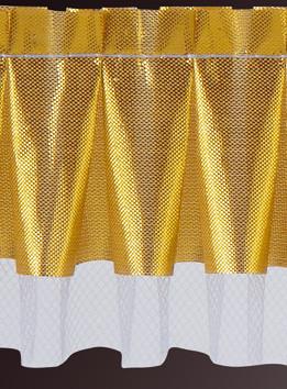 Tülltortenrand, gold