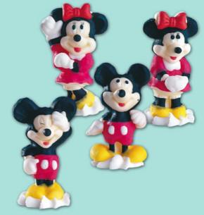 Zucker-Mickey Mouse, 4-fach sortiert