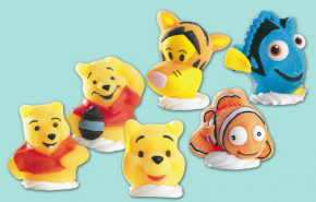 Geleé/Zucker-Figuren Winnie Pooh, 4-fach sortiert