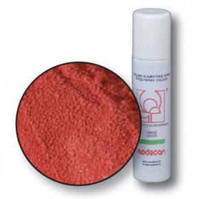 Lebensmittelfarbspray mit Samteffekt, rot