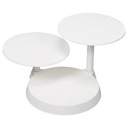 Kunstoff-Etagere mit 3 Platten a 27,5cm