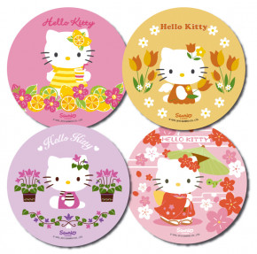 Waffel-Aufleger Hello Kitty, groß, 4-fach sortiert