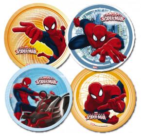 Zucker-Aufleger Spiderman, 4-fach sortiert, 22cm, 12 Stück
