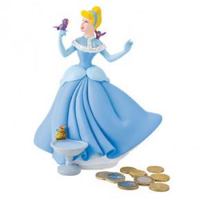 Cinderella Spardose mit Drehverschluss, Kunststoff, ideal für Motivtorten