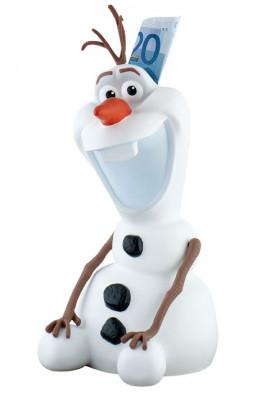 Frozen Olaf Spardose mit Drehverschluss, Kunststoff, ideal für Motivtorten