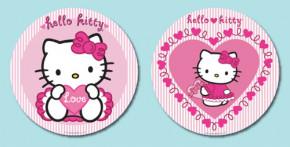 Waffel-Aufleger Hello Kitty, groß, 2-fach sortiert