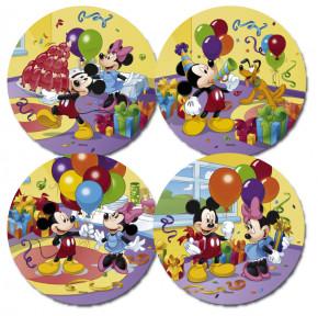 Zucker-Aufleger Mickey Mouse, 4-fach sortiert, 22cm, 12 Stück