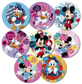 Waffel-Aufleger Mickey Mouse, 8-fach sortiert, 14,5cm, 27 Stück