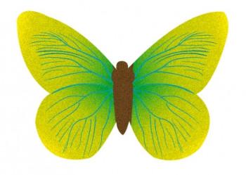 Waffel-Schmetterlinge, sortiert, 20-70mm, 260 Stück
