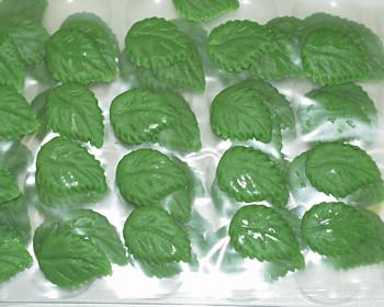 Marzipan-Blätter, klein
