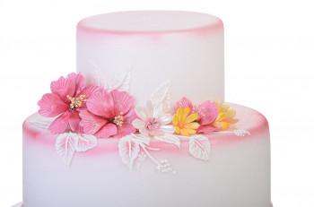 Elastische Paste, ideal zur Gestaltung von Blüten, zarten Dekorationen, 1kg, 1 Stück
