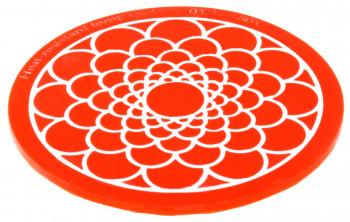 Kleine Silikonform Lissabon, ideal zur Gestaltung von effektvollen Tortendekorationen, 8,5cm, 1 Stück
