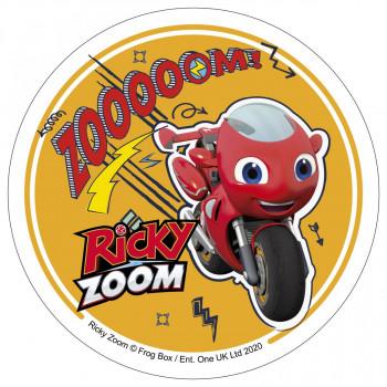 Waffel-Aufleger Ricky Zoom, 3-fach sortiert, 14,5cm, 27 Stück