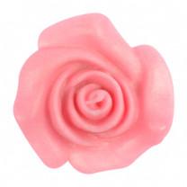 Rosen aus modellierbarer Zuckermasse, rosa, 30mm, 48 Stück
