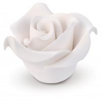 Zucker-Rosen, klein, weiss, 40mm, 36 Stück