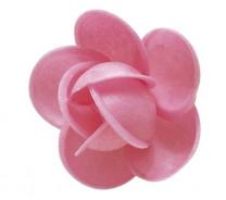 Waffel-Rose, rosa, 50mm, 100 Stück