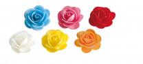 Waffel-Blumen, sortiert, 45mm, 100 Stück