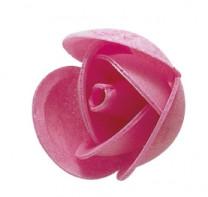 Waffel-Rosenknospe, rosa, 42mm, 200 Stück