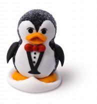 Geleé/Zucker-Pinguin, 2-fach sortiert, 45mm, 30 Stück