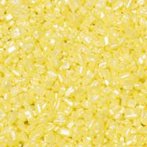 Zuckerkristalle, gelb, 500g, 1 Box