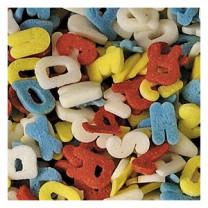 Zucker-Alphabet, bunt, Streudekor, 9mm, 1 kg