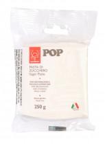 POP Fondant, weiss, modellierbare Einschlagmasse, 250g, 1 Stück