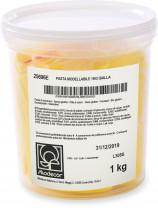 Modellierfondant, gelb, ideal für alle Sorten von Modelling und für die Fertigung von Blumen, 1kg, 1 Stück