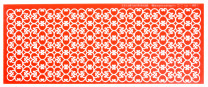 Sweet Lace Express Silikonform Dublin für essbare Spitze, 28,5x11cm, 1 Stück