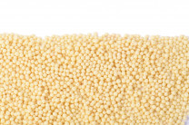 Knusperperlen weiss, ca. 3-5mm, 1kg