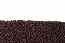 Knusperperlen dunkel, ca. 3-5mm, 1kg