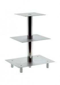 Stufen-Etagere mit 3 Platten, Plattenmaße 160x160/1