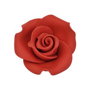 Dekor-Rosen, rot, aus lebensmitteltauglichem Material, nicht essbar, 40mm, 36 Stück