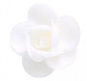 Waffel-Blumen, weiss