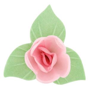 Waffel-Blumen, rosa, 53mm, 180 Stück