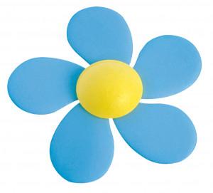 Waffel-Cosmos, blau, 60mm, 100 Stück