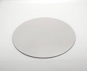Tortenteller, Tortenunterlage, weiss, rund 36cm, Stärke 0,15cm, 20 Stück, für Kontakt mit Lebensmitteln