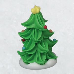 Zucker-Weihnachtsbäume