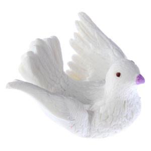 Dekor-Tauben, aus lebensmitteltauglichem Material, 35mm, 100 Stück