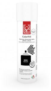Velvet-Lebensmittelspray mit Samteffekt, schwarz, zum Dekorieren von Eistorten, Speiseeis und Mousse, 250ml, 1 Stück